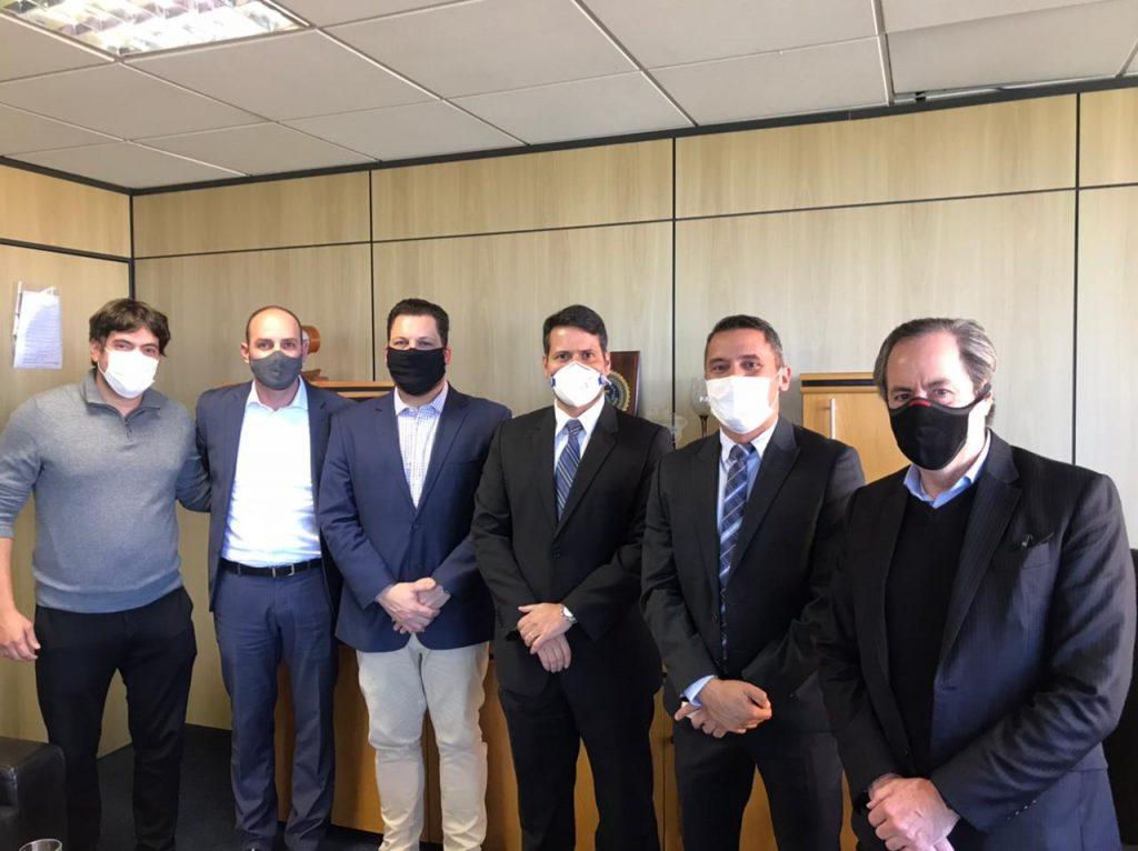 Conib se reúne com senador e diretores da Polícia Federal em Brasília